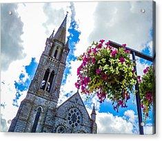Holy Cross Church Steeple Charleville Ireland Acrylic Print