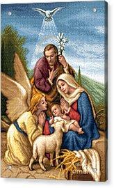 Holy Family Acrylic Print by Stoyanka Ivanova
