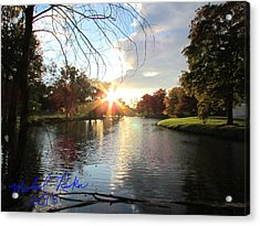 Holy Ground Acrylic Print by Michael Rucker