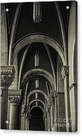 Holy Hill Archways Acrylic Print by Christina Klausen