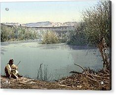 Holy Land River Jordan Acrylic Print by Granger