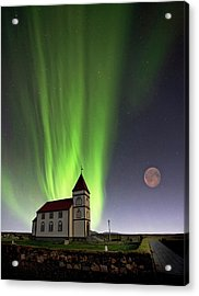 Holy Lights Acrylic Print