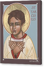 Holy Martyr St. Tarcisius Patron Of Altar Servers 271 Acrylic Print