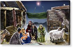 Holy Night Acrylic Print by Reggie Duffie