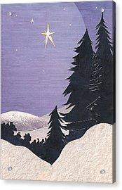 Holy Night Acrylic Print by Robin Birrell