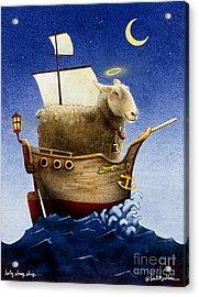 Holy Sheep Ship... Acrylic Print by Will Bullas