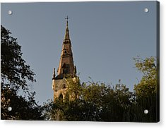 Acrylic Print featuring the photograph Holy Tower   by Shawn Marlow