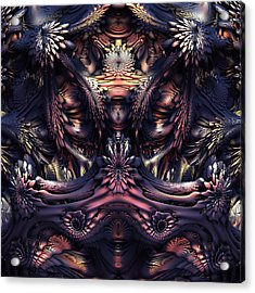 Homage To Giger Acrylic Print by Lyle Hatch