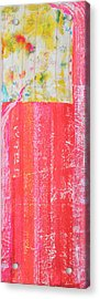Homage To Old Paint Rags Acrylic Print by Asha Carolyn Young