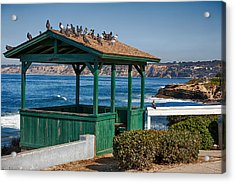 Home By The Sea Acrylic Print by Peter Tellone