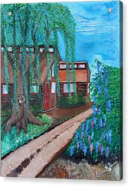 Acrylic Print featuring the painting Home by Cassie Sears