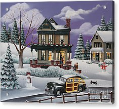 Home For The Holidays 2 Acrylic Print by Catherine Holman