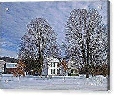 Home For The Holidays Acrylic Print by Christian Mattison