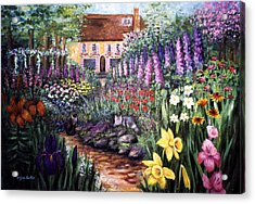 Home Garden Acrylic Print