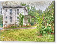 Home Is Where The Heart Is Acrylic Print by Liane Wright