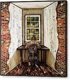 Home-less Acrylic Print by Eloa Jane