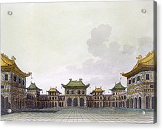 Home Of A Rich Individual In Peking Acrylic Print
