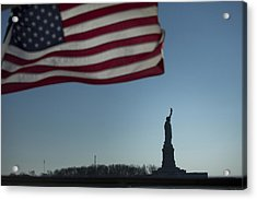 Home Of The Brave Acrylic Print by Mark Milar