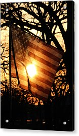 Home Of The Free Because Of The Brave  Acrylic Print