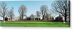 Home Of Thomas Jefferson, Monticello Acrylic Print by Panoramic Images