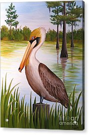 Home On The Bayou  Acrylic Print
