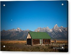 Home On The Range Acrylic Print by Karen Lee Ensley
