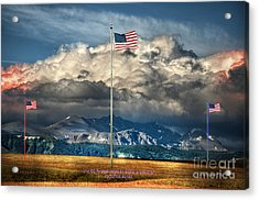 Home On The Range Acrylic Print by The Stone Age