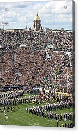 Home Opener 2012 Acrylic Print by Michael Cressy