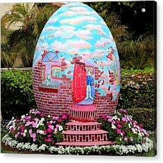 Home Sweet Egg Acrylic Print