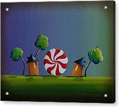 Home Sweet Home Acrylic Print by Cindy Thornton