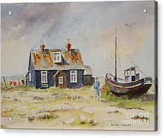 Home Sweet Home Dungeness Acrylic Print