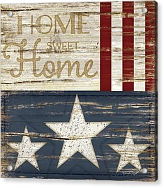 Home Sweet Home Acrylic Print by Jennifer Pugh