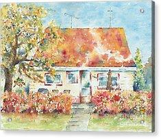 Home Sweet Home Acrylic Print by Pat Katz