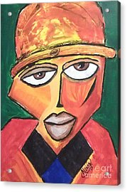 Homeboy Acrylic Print by Anthony Lewis