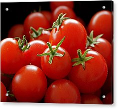 Homegrown Tomatoes Acrylic Print by Rona Black