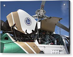 Homeland Security Hi-performance Helicopter Acrylic Print