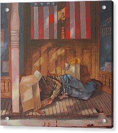 Homeless , Morning Son Acrylic Print