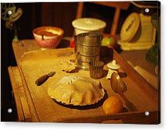 Homemade Pie Acrylic Print