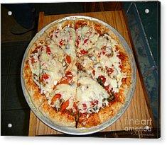 Homemade Pizza  Acrylic Print
