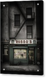 Acrylic Print featuring the photograph 'homemade' by Russell Styles