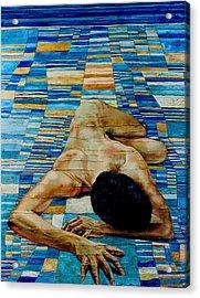 Homenaje A Paul Klee Acrylic Print by Nancy Almazan