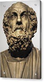 Homer  Acrylic Print by Greek School