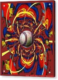 Homer Acrylic Print by Ray Tapajna