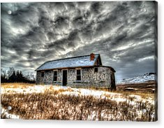 Acrylic Print featuring the photograph Homestead 2 by Kevin Bone