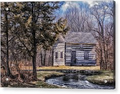 Homestead 4 Acrylic Print by Jack Zulli