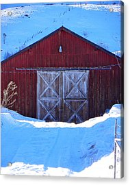 Homestead Barn Acrylic Print