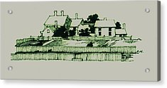 Homestead Acrylic Print by Dale Michels