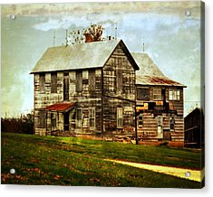 Homestead Acrylic Print by Marty Koch