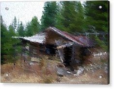 Homesweethome Acrylic Print by Kevin Bone