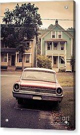 Hometown Usa Acrylic Print